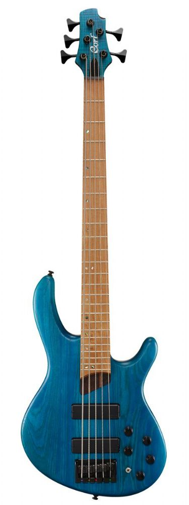 Cort Artisan B5 Plus AS RM Open Pore Aqua Blue